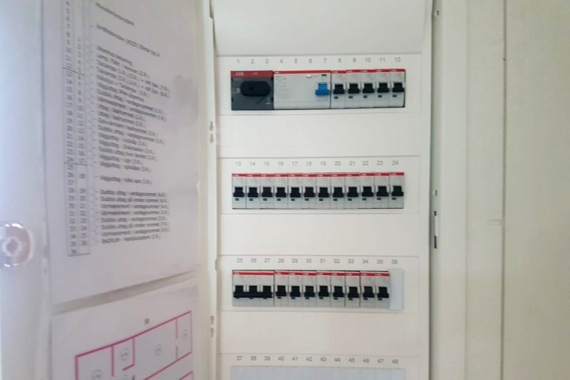 elektribas skapis
